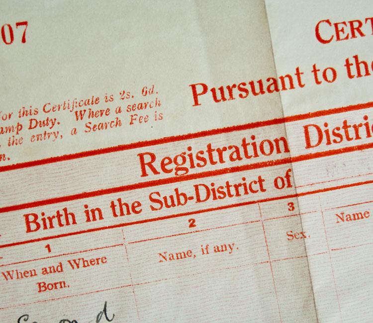 kopie rodneho listu